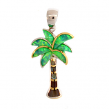Sterling Palm Tree Pendant