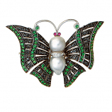 Estate Butterfly Pin-Pendant