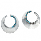 **NEW**  Sterling Eclipse Earrings