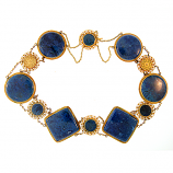Estate Lapis Necklace