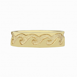 Gentleman's Wave Ring