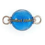 Sterling and Glass Sanibel Bead Topper