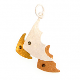 Sterling Fishes Pendant