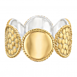 Sterling and Vermeil Ring