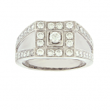 Estate Gent's Diamond Ring