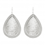 Sterling Teardrop Earrings