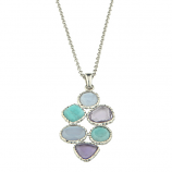 **NEW** Sterling Gemstone Necklace