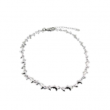 Sterling Dolphin Anklet