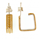 Sterling Vermeil Earrings