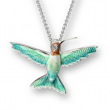 Sterling Hummingbird Necklace