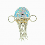 Sterling Jellyfish Bracelet Topper