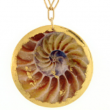 """Nautilus"" Necklace by Evocateur"
