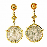 Ancient Roman Grosso Earrings