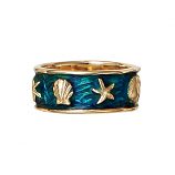 Enamel Shell Ring