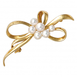 Estate Mikimoto Pearl Pin