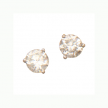 **SOLD**  Estate Diamond Stud Earrings