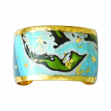 """Sanibel Island Artist Map"" Cuff by Evocateur"