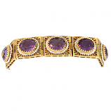 Estate Amethyst Bracelet
