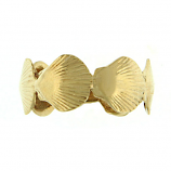 Scallop Band Ring