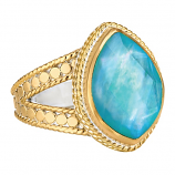 Sterling Vermeil Ring