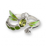 Sterling Dragonfly Ring