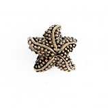 Sterling Starfish Bead