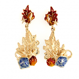 Enamel Reef Earrings